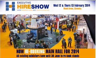 image of Executive Hire Show  launches show dates